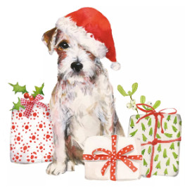 Salveta Christmas Pup BZ19