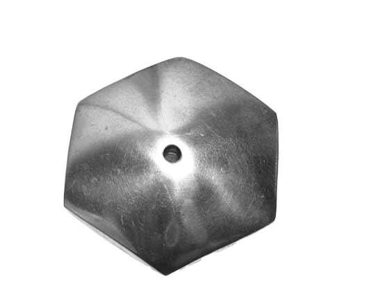 Aluminijska perlica 50x12 mm, AL1
