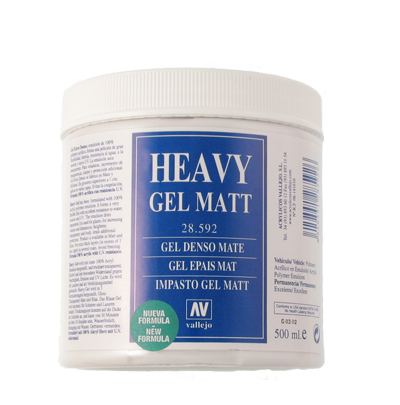 Heavy Gel mat 500 ml