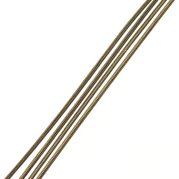 Lanac 1 mm, bronca, 1 dm, MD17