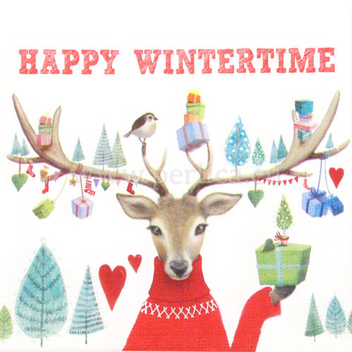 "Salveta ""Happy Wintertime"" BZJ2"