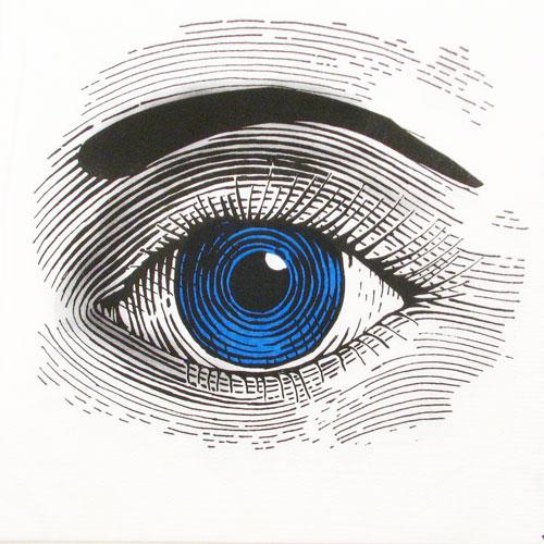 """Salveta """"Eye Blue"""" G33"""
