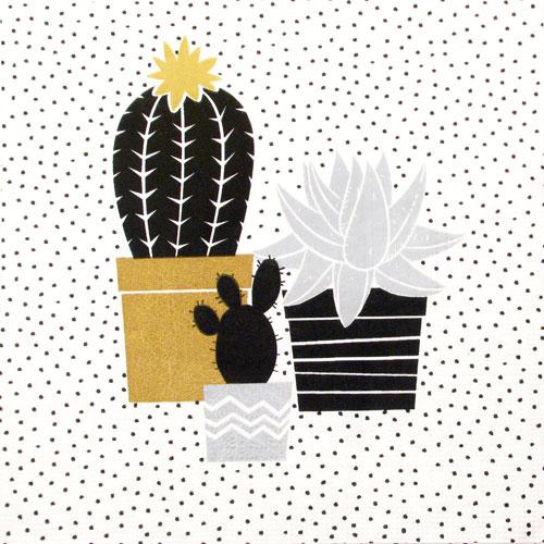 "Salveta ""Cactus Black Gold"" TRD1"