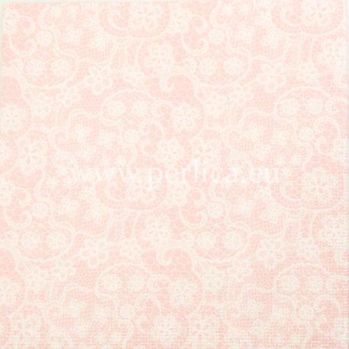 "Salveta ""Linen lace rose"" G24"