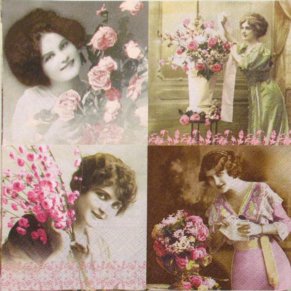 """Salveta """"La vie en Rose"""" R1"""