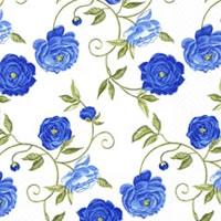 """Salveta """"Peony blue"""" C18"""