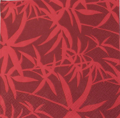 Salveta Crveni bambus J6