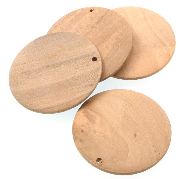Drvena pločica 5 cm, 4 kom, DRV12