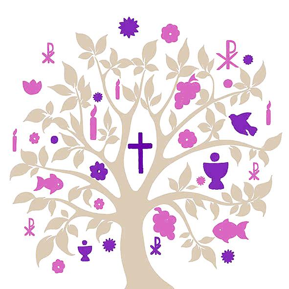 Salveta Communion symbols taupe D26