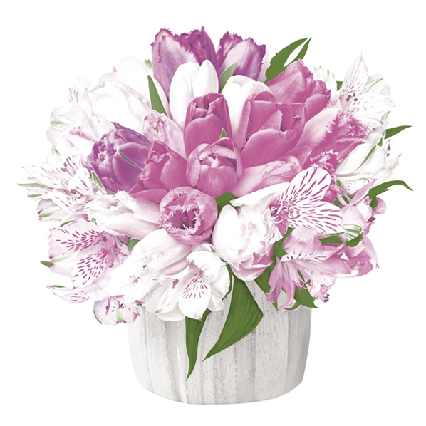 Salveta Pastel Bouquet C74