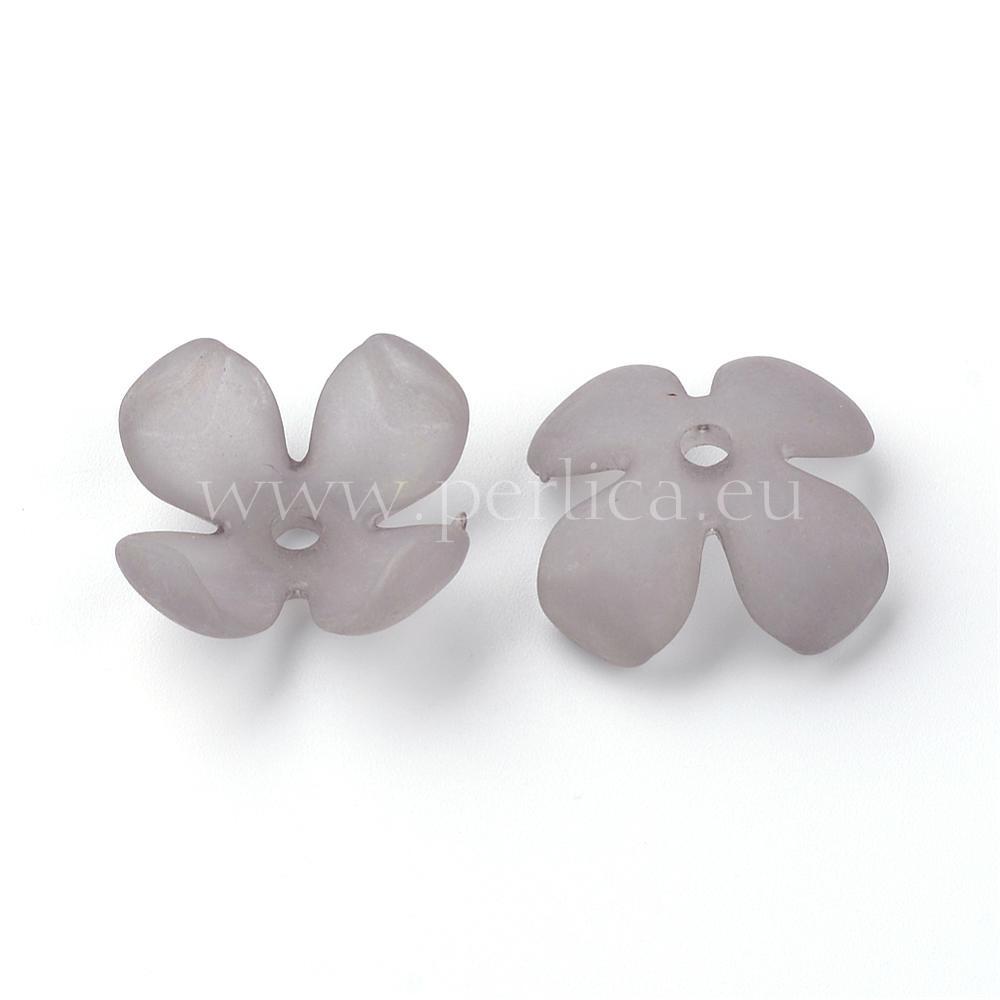 Perlica cvijet 24x24x10 mm , 6 kom, PL2
