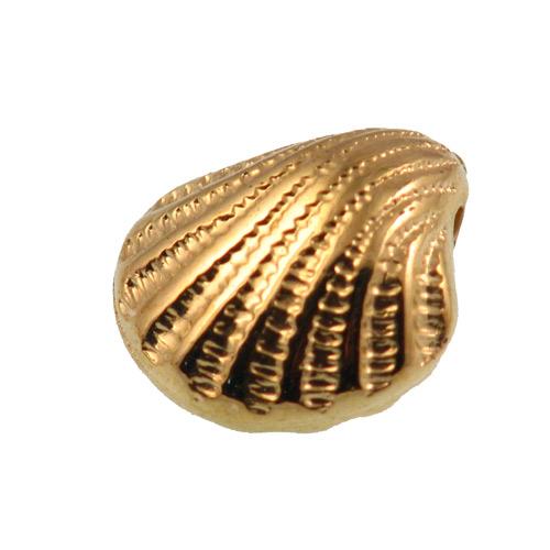 Školjka 11,5x10,5x6,5 mm, 6 kom CCB1