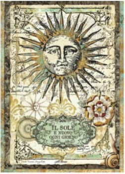 Dec papir Alchemy - Sun (1)
