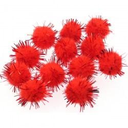 Pompon-metalik-crveni