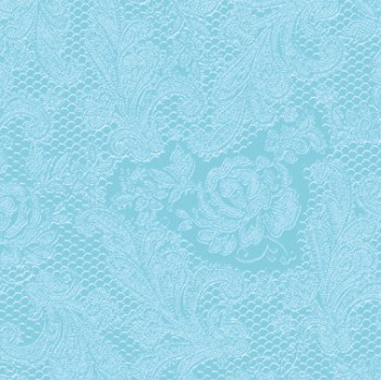 Salveta lace aqua
