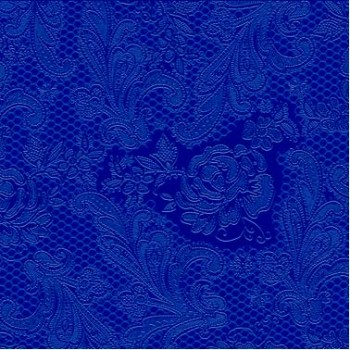 Salveta lace embossed marine