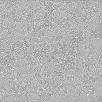 Salveta lace embossed silver