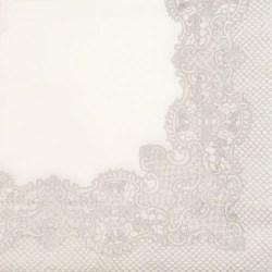 Salveta-srebrna-cipka