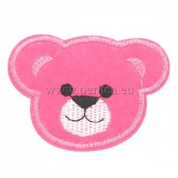 Tassel-teddy-pink