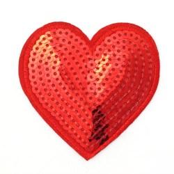 Zakrpa-srce-crvena