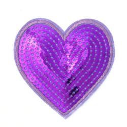 Zakrpa-srce-ljubicasta