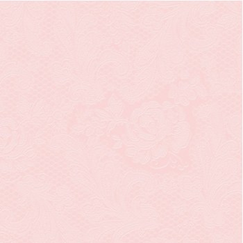 salveta lace emobossed rose glace