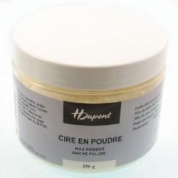 wax-powder