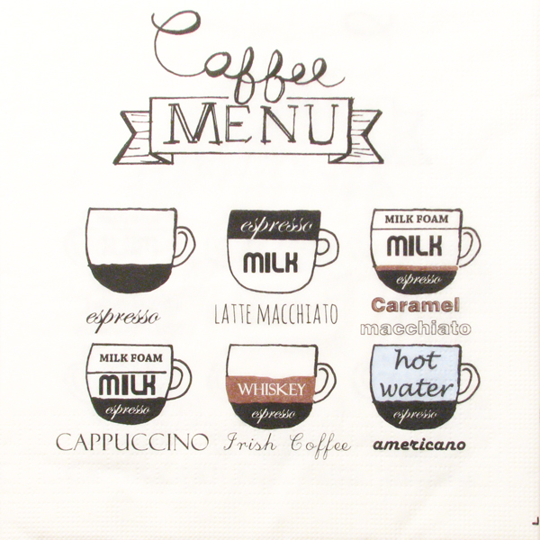 Salveta Coffee Menu UG4