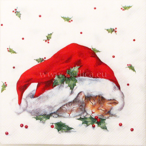 Salveta Sweet  Christmas cats ZI26