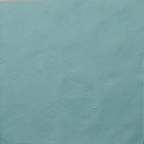 Salveta Lace embossed Menthe GL70